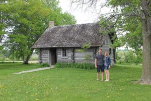 mom little house on the prarie house